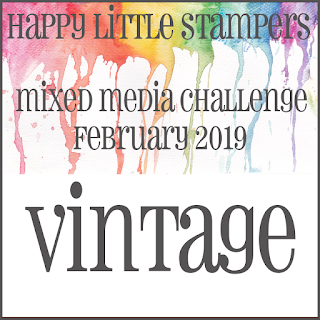 +++HLS February Mixed Media Challenge