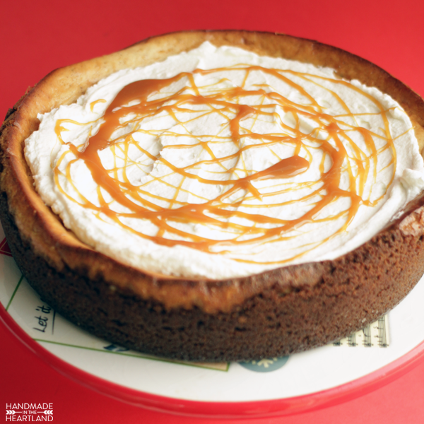 Egg Nog Cheesecake is like Christmas in your mouth.