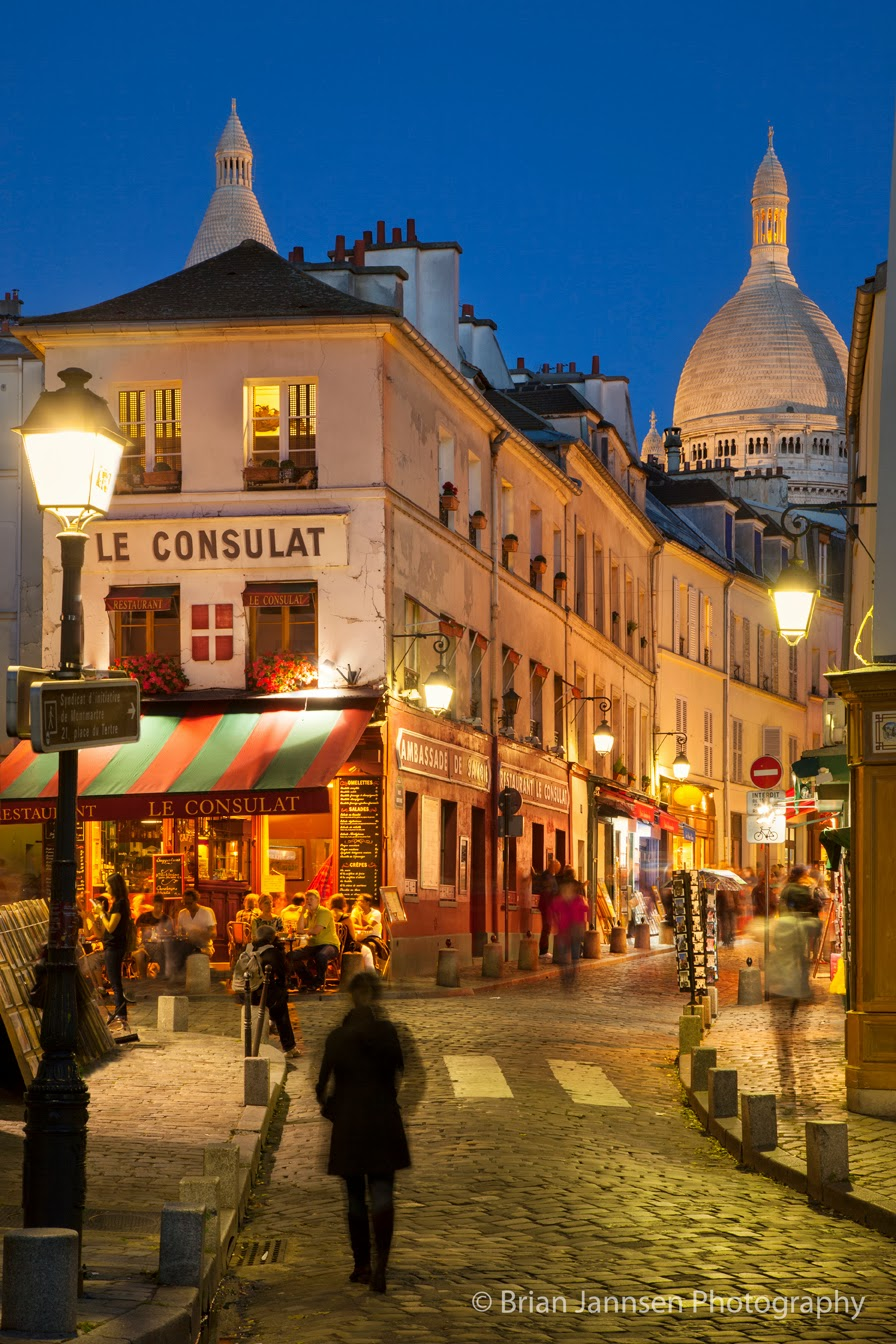 One of Paris' most picturesque neighborhoods can be explored via rue Norvins. Photo: © Brian Jannsen Photography. Unauthorized use is prohibited.