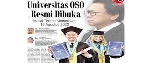 Universitas OSO Resmi Dibuka di Pontianak