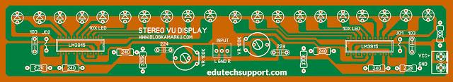 lm3915 music light diagram circuit