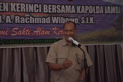 Jelang Pilkada, Kapolda Jambi Silaturahmi dengan Pemerintah Kabupaten Kerinci