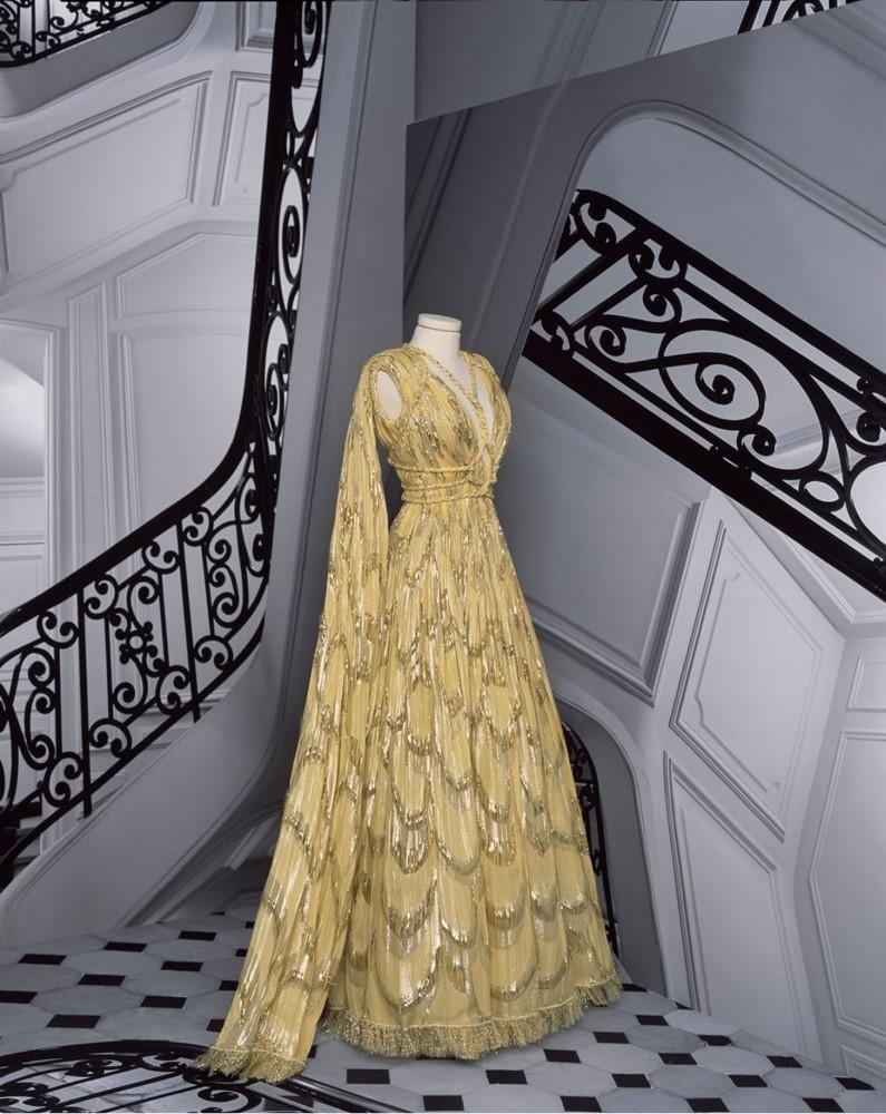 Vestido coleção Dior 2020-2021