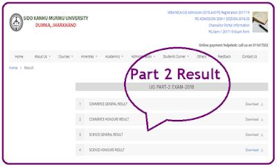 SKMU Part 2 Result 2018