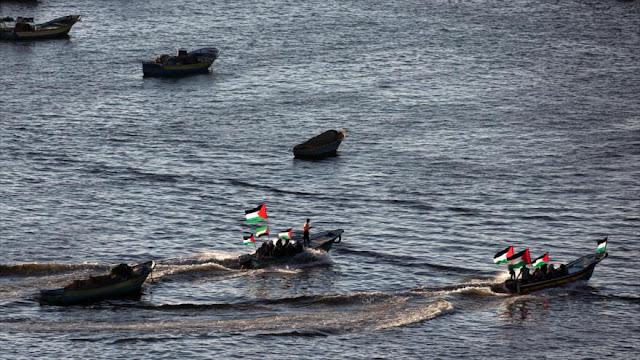 Flotilla de mujeres que iba a Gaza es interceptada por Israel