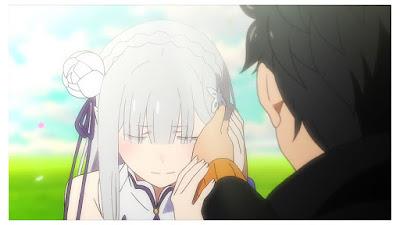 rekomendasi terbaik anime romantis re : zero kara hajimeru isekai seikatsu