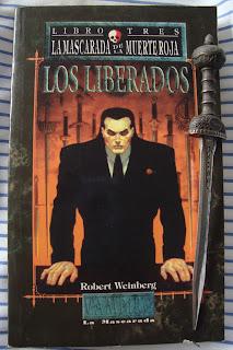Portada del libro Los liberados, de Robert Weinberg