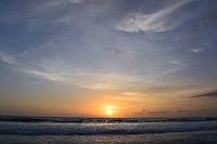 Sunset Pantai Kayu Putih Bali