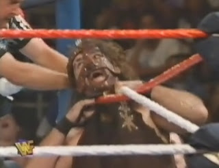 WWF / WWE IN YOUR HOUSE 10: Mind Games - Mankind challenged Shawn Michaels for the WWF title