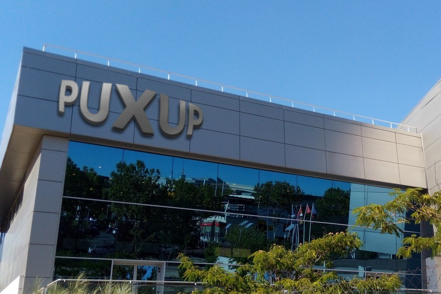 Puxup Mock Brand Building