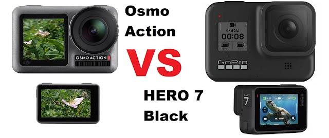 DJI Osmo Action or GoPoro HERO 7 Black?