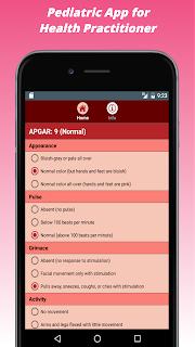 Pediatric App for Health Practitioner