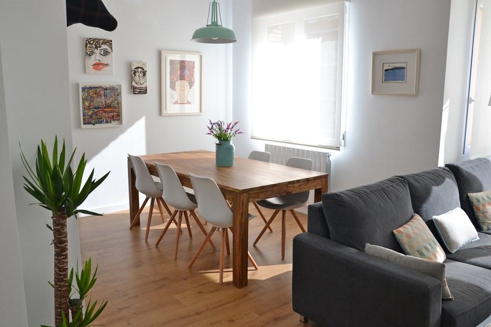 Sala de jantar com decorao de inspirada no estilo