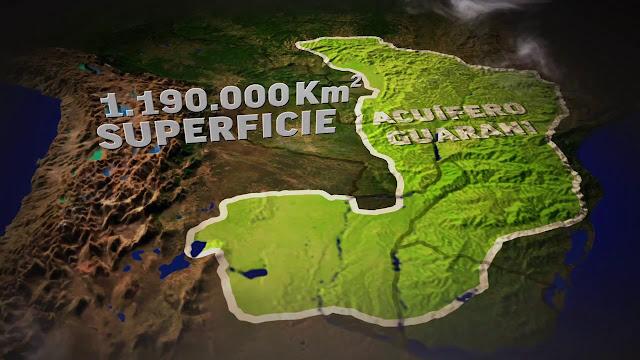 Aquífero Guarani - Brasil, Argentina, Paraguai, Uruguai