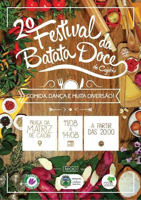Sucesso da plantação de batata doce em Cajobi faz festival ganhar segunda edição; Saiba mais