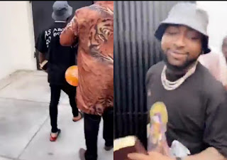 Davido Turns Back At His Gang, Surrenders His Life To Christ, Spotted Going to Bible Study (Video)