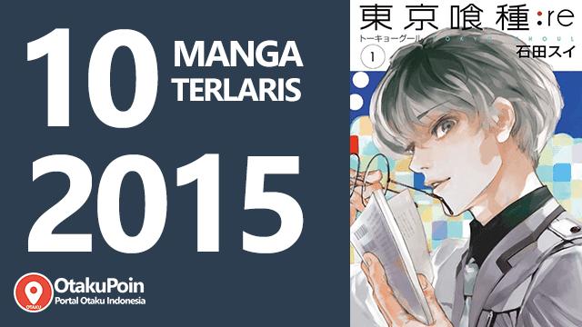 10 Manga Paling Laris 2015 berdasarkan New York Times