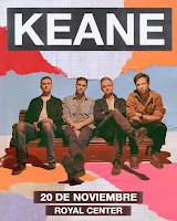 Concierto de KEANE en Bogotá 2019
