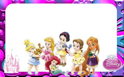 Disney princess babies free printable party invitations or cards dress invitation filmwisefo