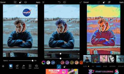 PicsArt Photo Studio v13.7.4 APK + MOD Full, (GOLD/PREMIUM Unlocked)