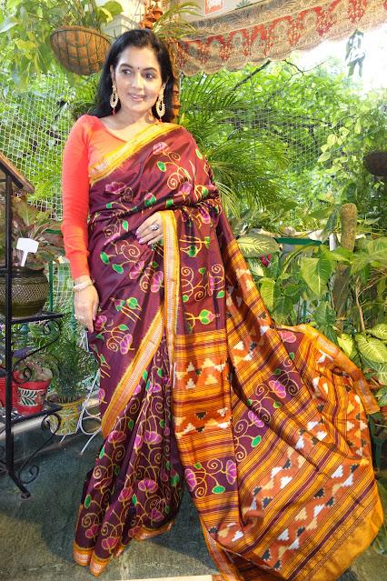 Sambalpuri silk saree - 3