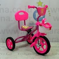 sepeda roda tiga bmx pmb sandaran musik