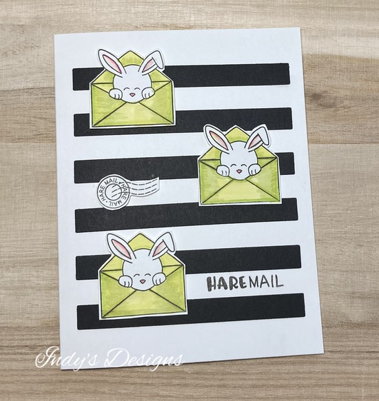 Hare Mail by Indy features Newton's Nook Designs; #newtonsnook, #cardmaking, #indys_designs