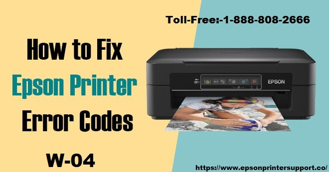How To Get Rid Of Epson Printer W-04 Error Code?