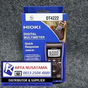 Jual Hioki DT4222 Multimeter Digital Ori di Jombang
