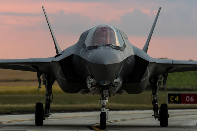 Second F-35 Squadron arrives UK