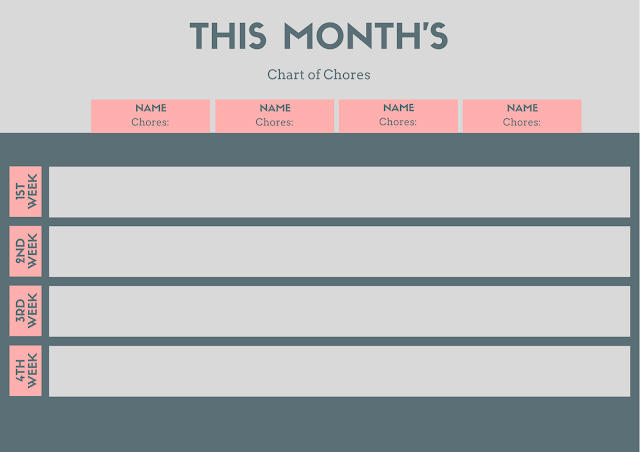 Monthly planners for journaling every day