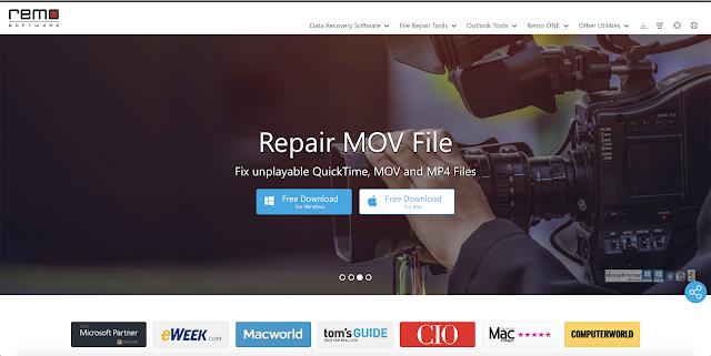 【攝影實驗室】影片修復軟體 Remo Repair MOV,救回原不屬於你的檔案 - 實例驗證有效