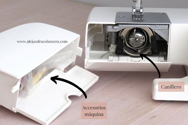 Partes máquina coser canillero: Accesorios máquina y canillero