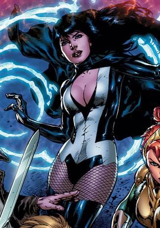 Zatanna es una superheroína de DC Comics