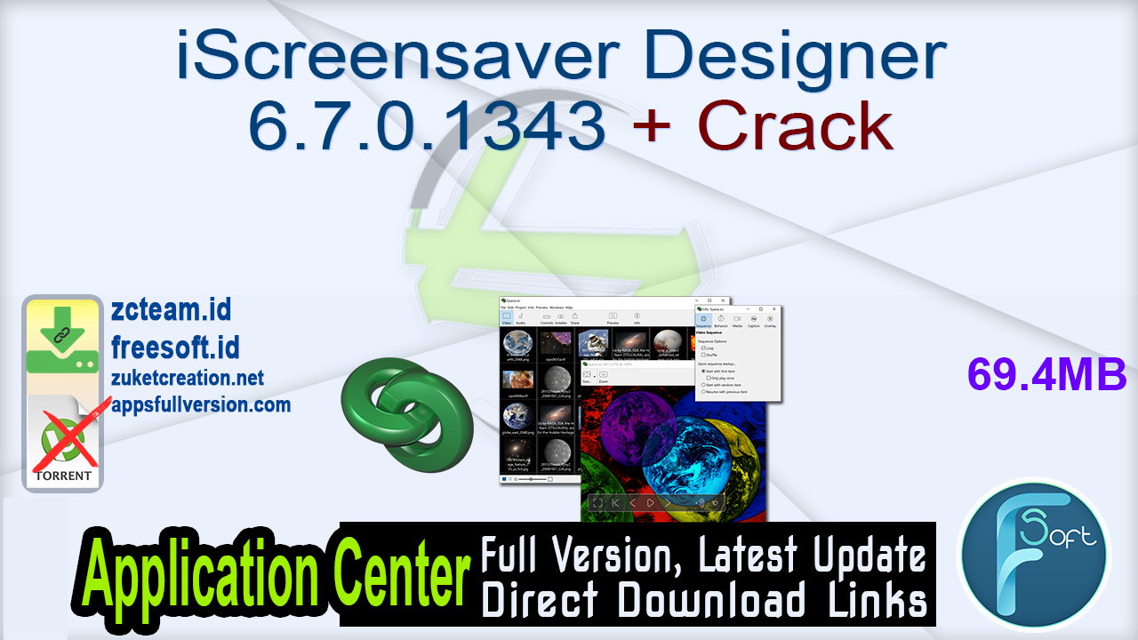 iScreensaver Designer 6.7.0.1343 + Crack_ ZcTeam.id