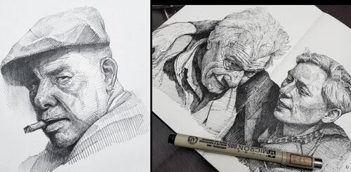 00-Yun-Ho-Kim-Expressions-in-Different-Pencil-Portrait-Styles-www-designstack-co