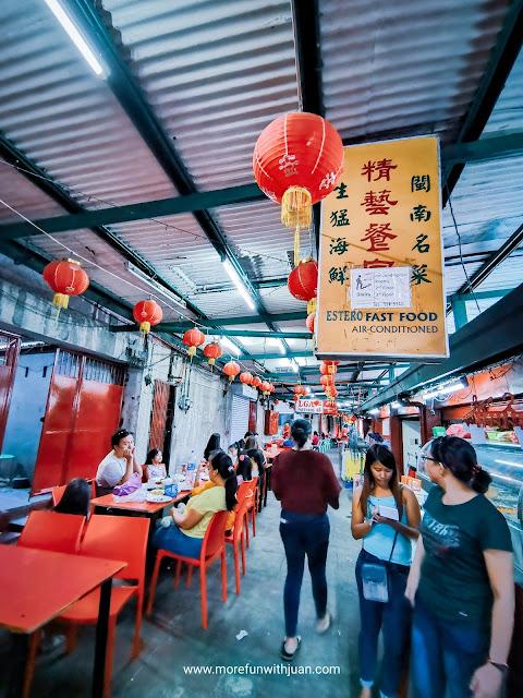 Affordable Chinese restaurant in Binondo Divisoria food trip Best Dumplings in Binondo What to do in Binondo Best Chinese restaurant in Binondo Exotic food in Binondo Manila How to go to Estero Binondo Binondo map