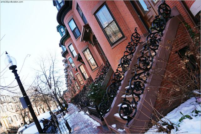 Calle del South End en Boston