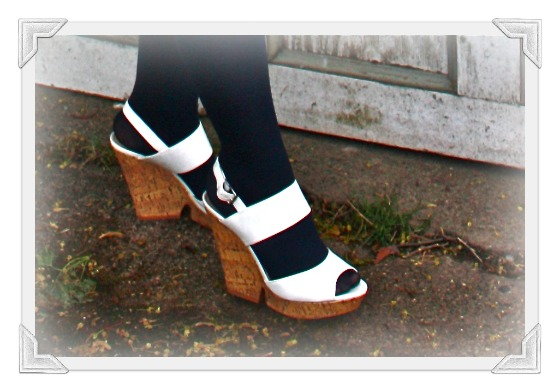Comfortable Platform Heeled Work Shoes