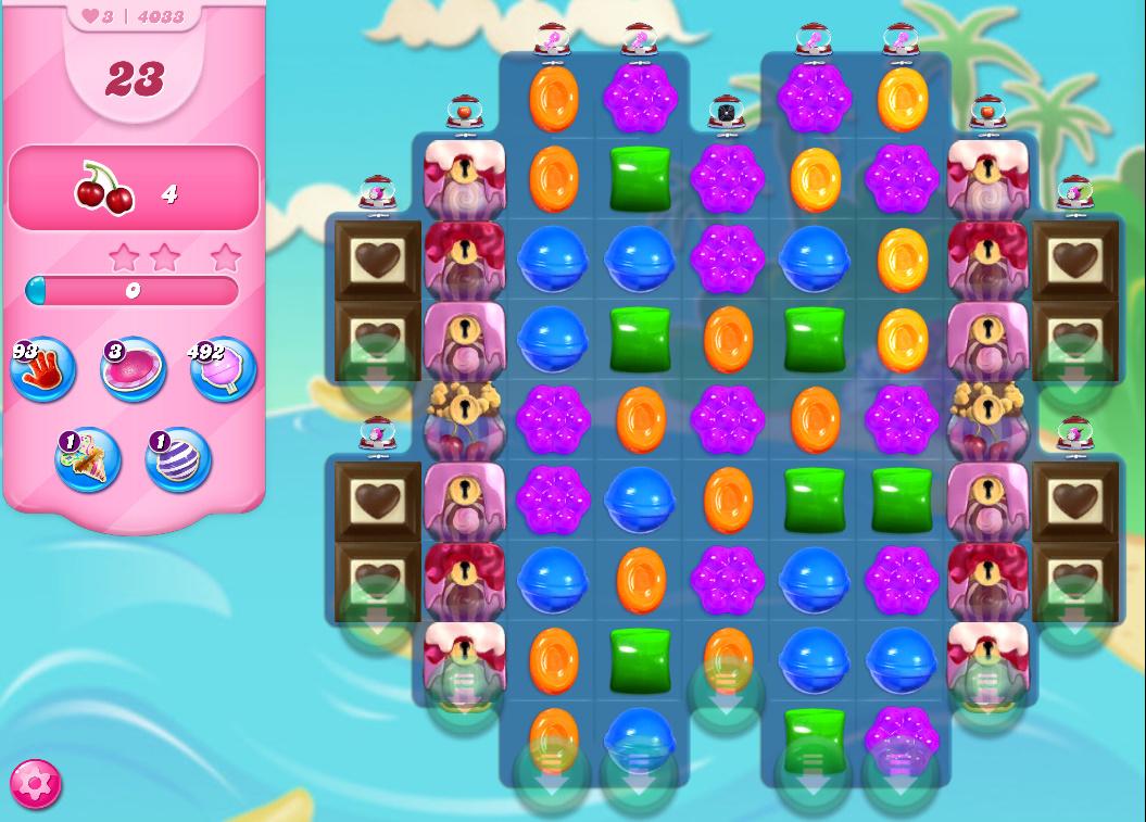 Candy Crush Saga level 4033