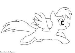 Planse De Colorat Cu Micii Mei Ponei My Little Pony