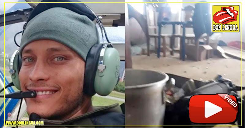 Militares filtraron nuevas fotos y videos del cobarde asesinato de Óscar Pérez