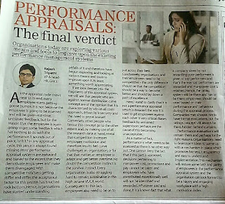 Performance Appraisal : The Final Verdit
