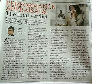Performance Appraisal : The Final Verdit