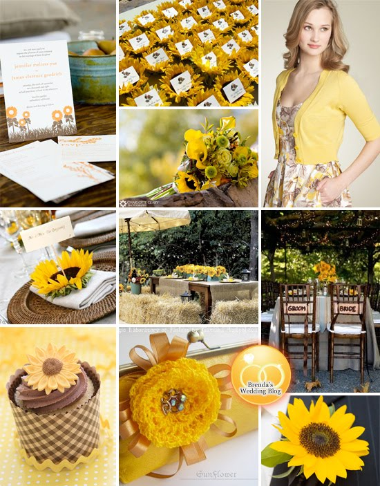 The Fine Living Muse Sunflower Themed Wedding And Party Styling Ideas