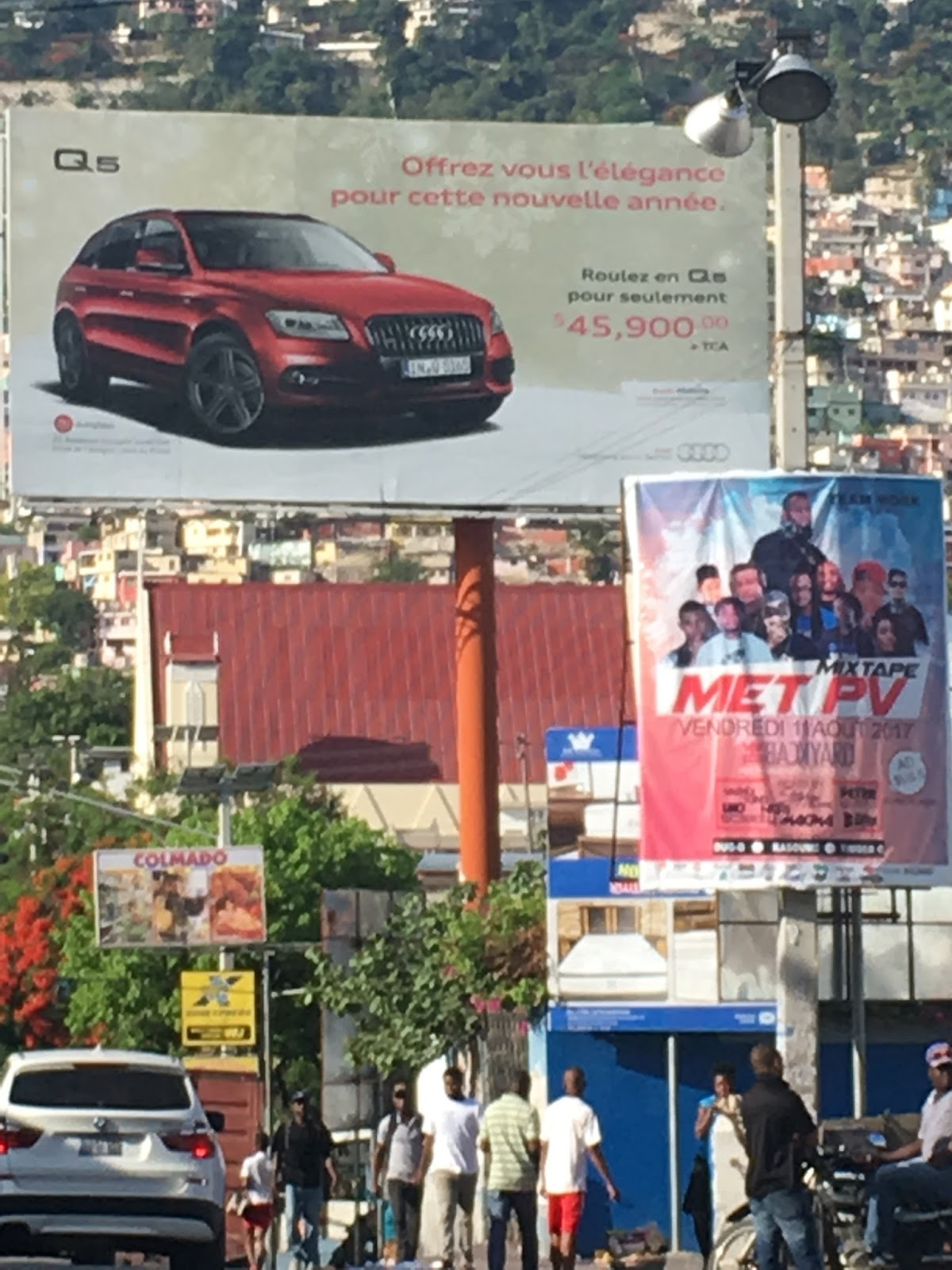 372c66019f Foreign goods at exorbitant prices on billboard and occasionally also on  the street