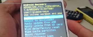 Cara Hard Reset Advan A8 (i55A)