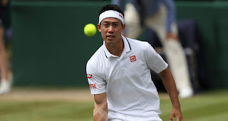 Kei Nishikori Wimbledon Quarter-final press conference