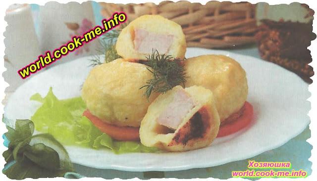 Свинина жареная в картофельном тесте