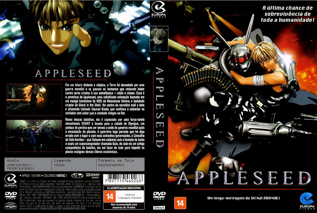 Capa DVD APPLESEED